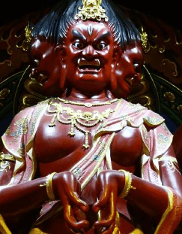 「馬頭觀音」—降伏魍魎鬼神