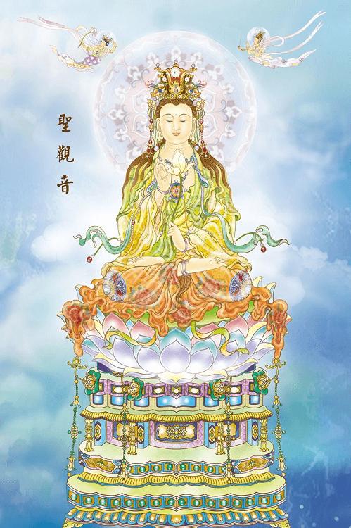 聖觀音,佛像