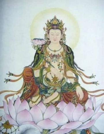 關於西方三聖之一的大勢至菩薩簡介故事、心咒以及功德感應。