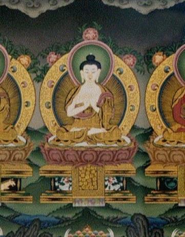 關於五方佛的簡介、心咒及其功德感應。